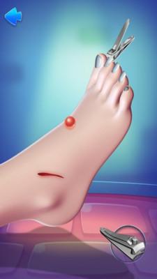 脚部护理模拟器
